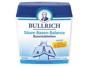 Machen Sie einen Test!: Bullrich Basentabletten unterstützen den Säure-Basen-Haushalt