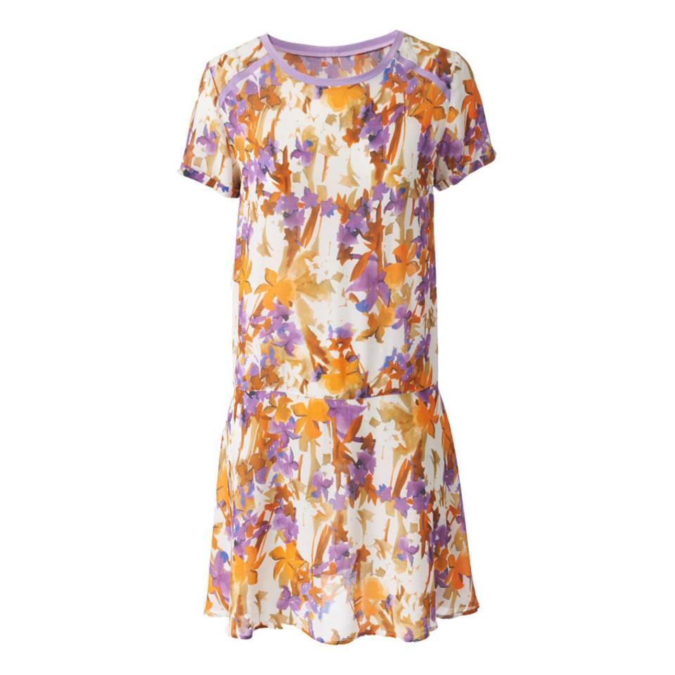 Schnittmuster: Kleid mit kurzen Ärmeln nähen - eine Anleitung