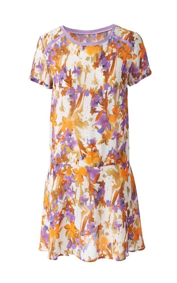 Schnittmuster: Kleid mit kurzen Ärmeln nähen - eine Anleitung ...