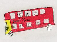 Fahrten mit dem Doppeldecker haben die Kinder sehr spannend gefunden