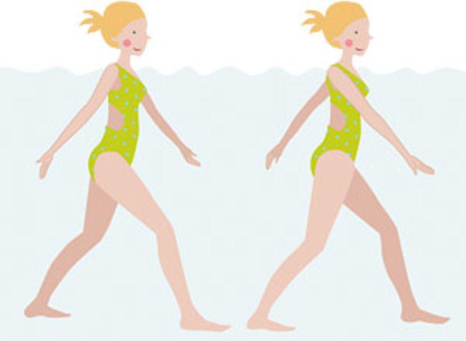 Wassersport: Aqua-Fitness trainiert den gesamten Körper