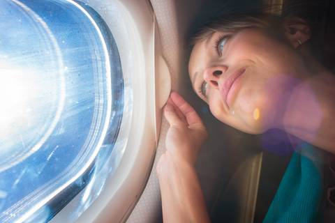 Haut & Haar: Über den Wolken: 8 Beauty-Tipps fürs Fliegen