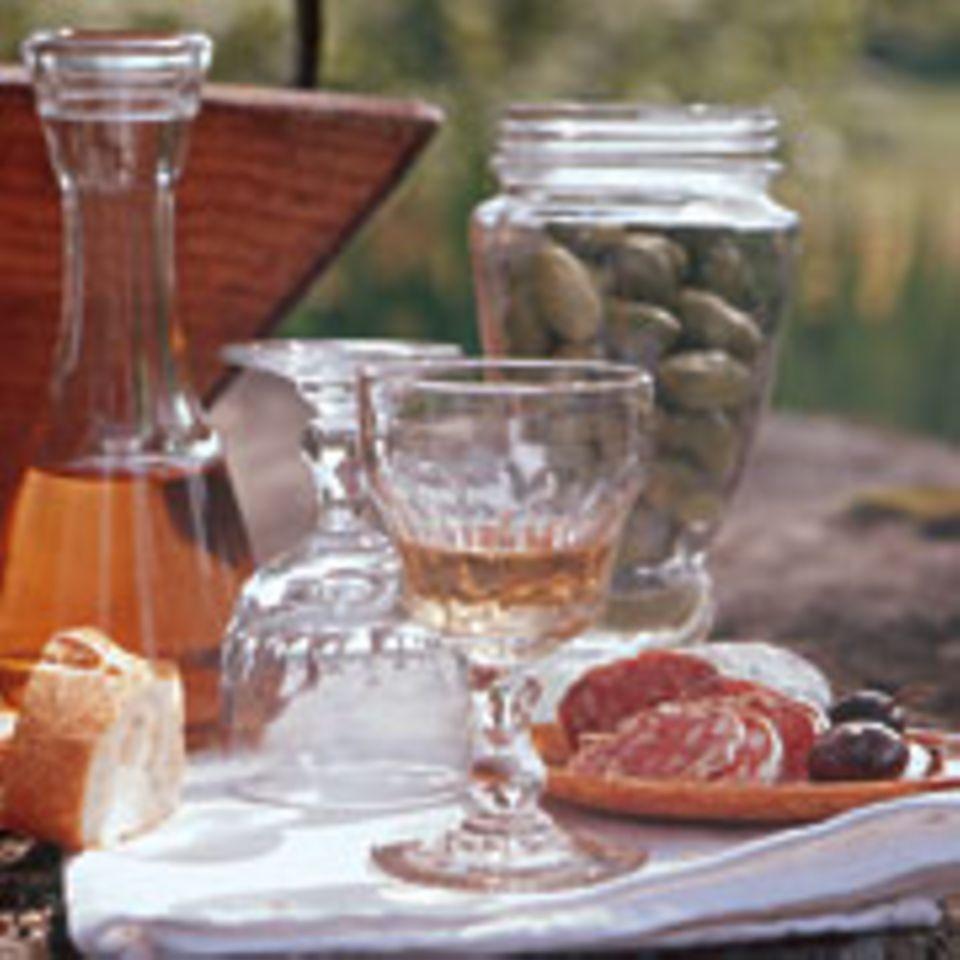 Typisch Frankreich: Snacks zum Wein