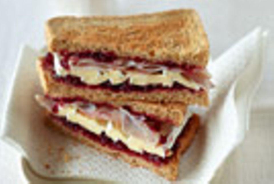 Puten-Sandwich - Klappstulle deluxe