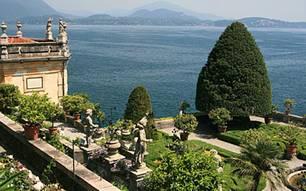 Prächtig: der Palazzo Borromeo auf der Isola Bella