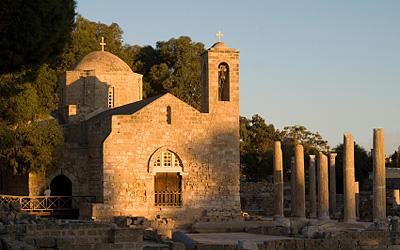 Historisch: Kirche Panagia Chrysopolitissa bei Paphos