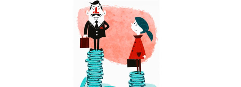 Gehaltsunterschied: Frauen verdienen nur die Hälfte