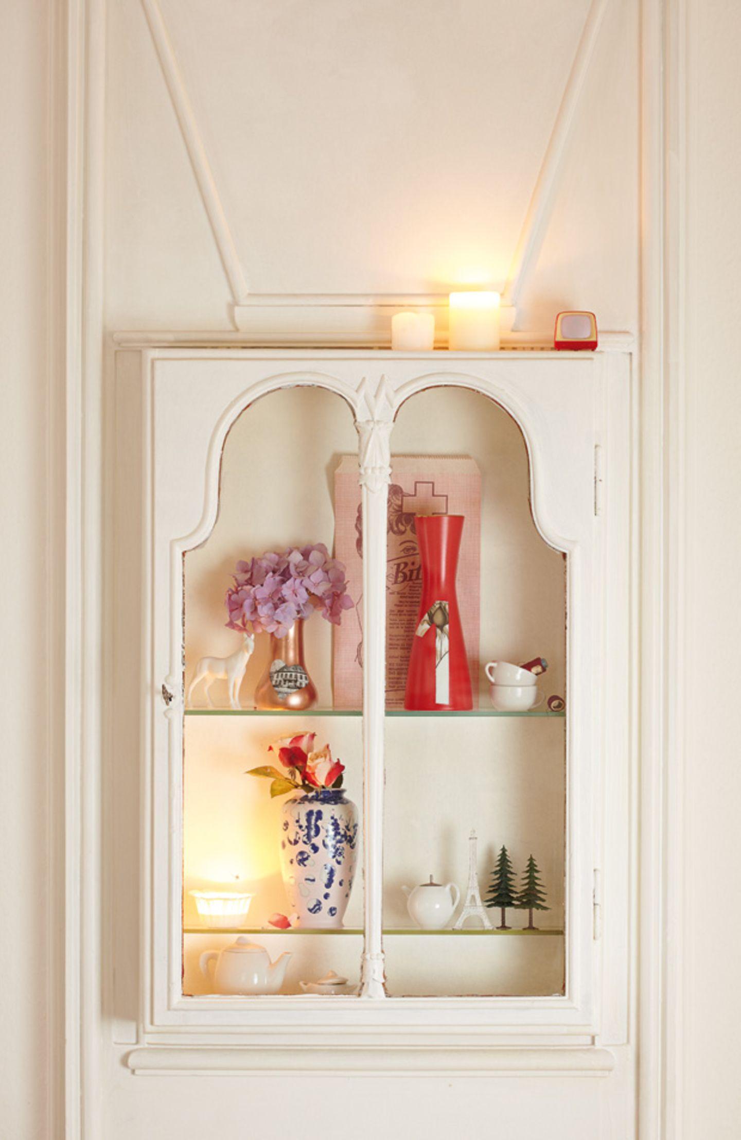 Vasen besprühen - einfache DIY-Idee