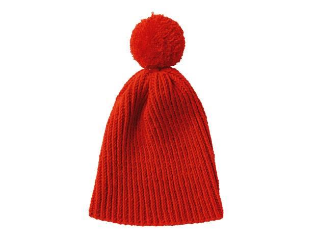 Strickmuster Rote Mütze Mit Bommel Stricken Eine Anleitung