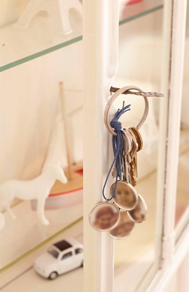 Das Brauchen Sie Für Einen Schlüsselanhänger Mit Foto: