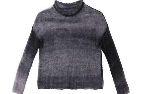 Dünnen Pullover aus Mohair stricken