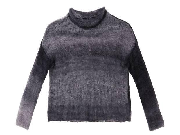 Strickmuster: Dünnen Pullover aus Mohair stricken | BRIGITTE.de