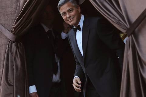 George Clooney: Hochzeit in Venedig