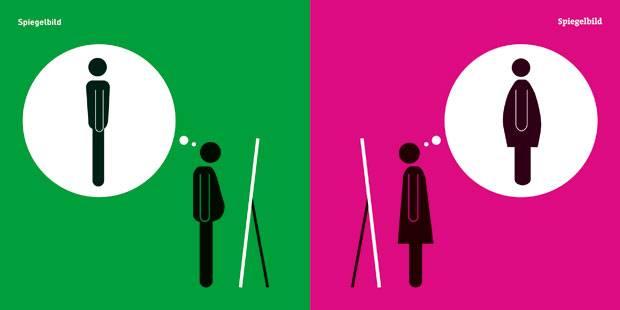 Entlarvende Piktogramme: Mann trifft Frau - so ticken die Geschlechter