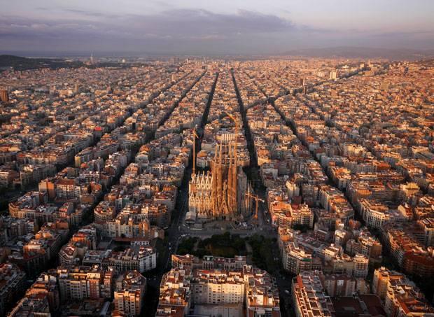 Fotografie Europa Von Oben Erkennen Sie Die Orte Brigitte De