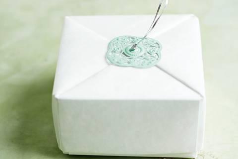 Origami-Schachtel falten - so geht's