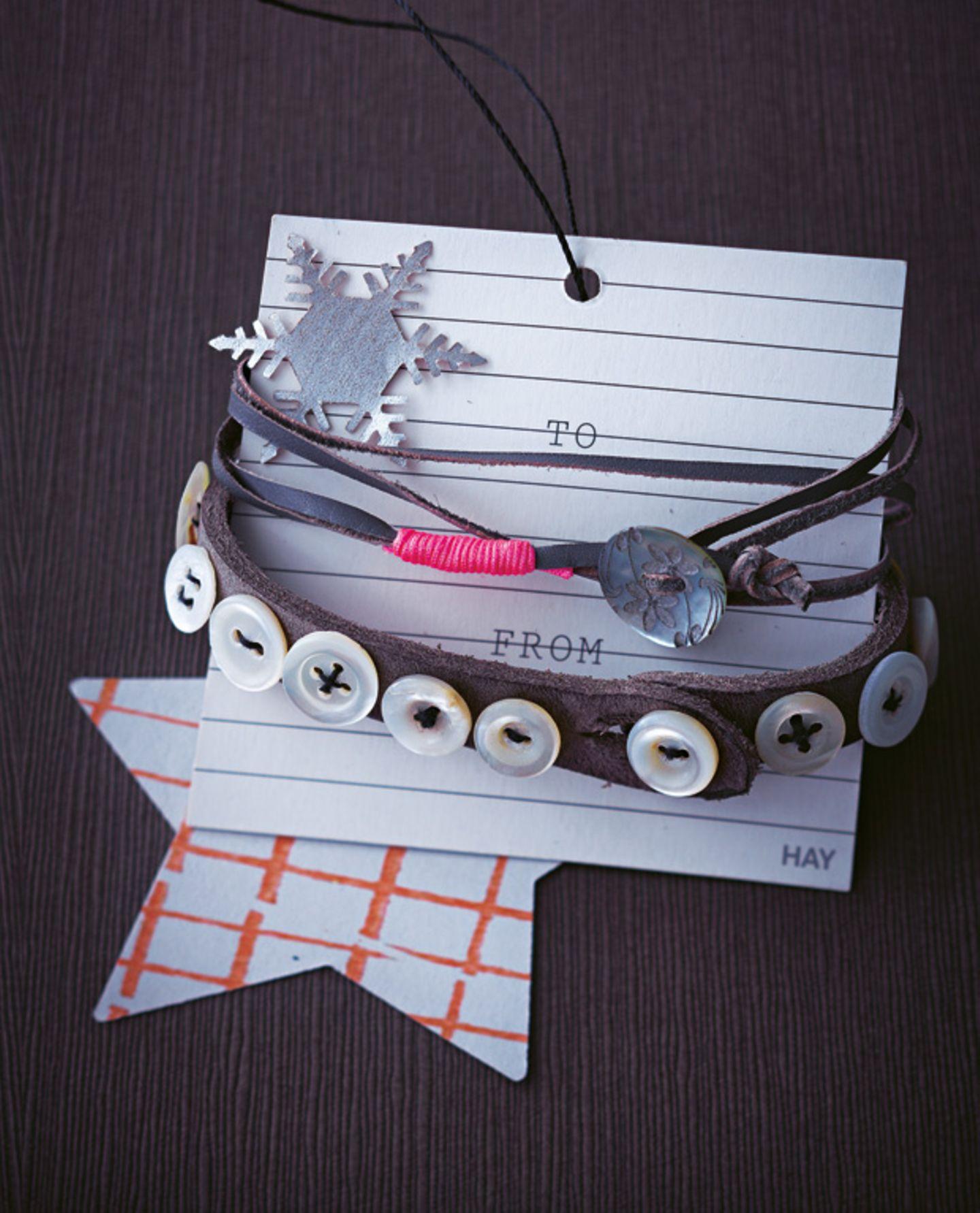 Armbänder basteln - Ideen zum Selbermachen