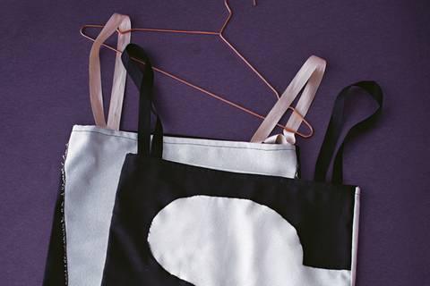 Wäschesack nähen - Zuhause für Schmutzwäsche
