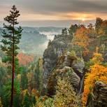 Spätsommer in der Sächsischen Schweiz