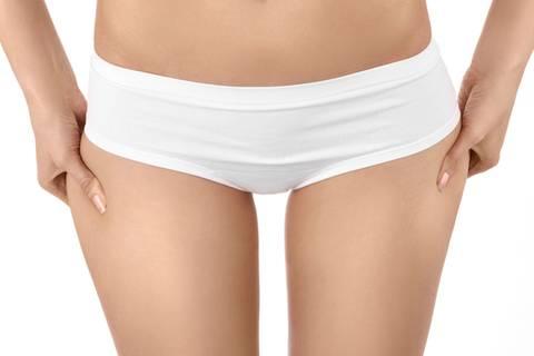 Thigh-Gap-Jeans - der parodierte Schönheitswahn