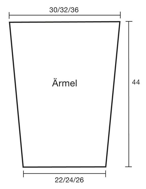 Strickmuster: Strickjacke mit X-Muster stricken - eine Anleitung