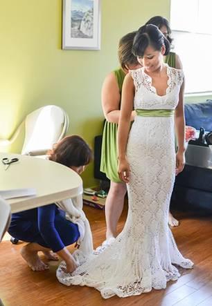 Häkeln Hochzeitskleid Häkeln Diese Braut Macht Es Vor Brigittede