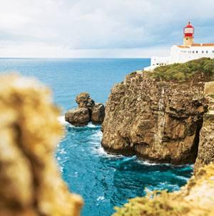 Am Ziel: Cabo de Sao Vicente - hier ist Schluss.