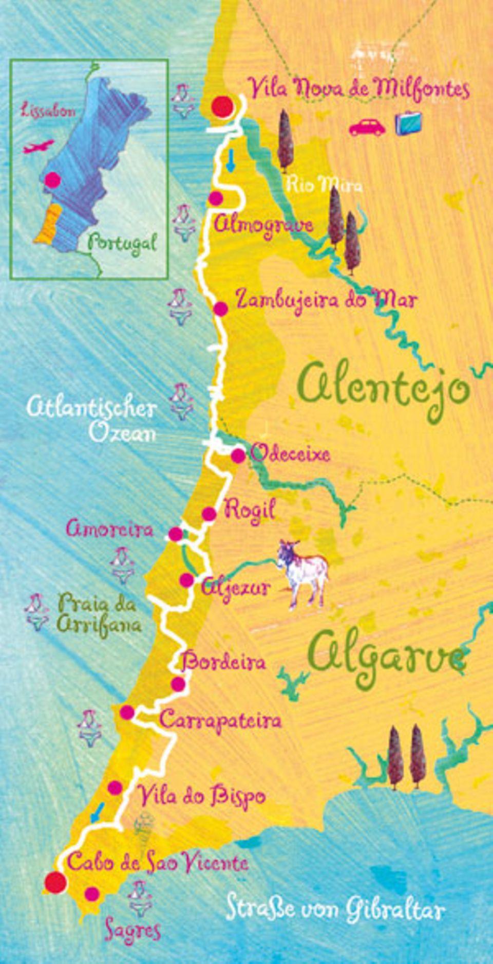 Portugal: Immer an der Westküste entlang