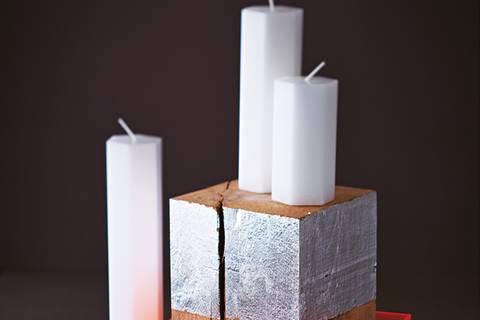 Kerzenständer selber machen