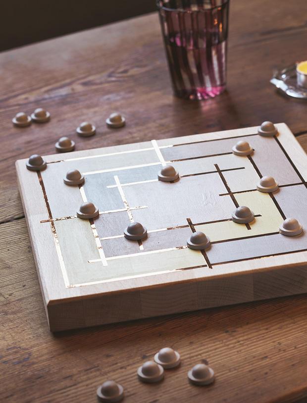 Gesellschaftsspiele Mühlespiel Selber Bauen Eine Anleitung
