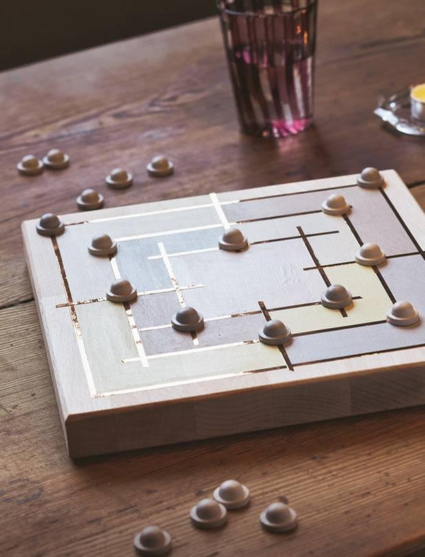 Bevorzugt Gesellschaftsspiele: Mühlespiel selber bauen - eine Anleitung GB37