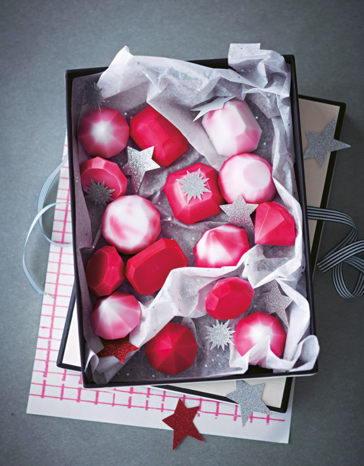 Seife selber machen - hübsche Geschenkidee