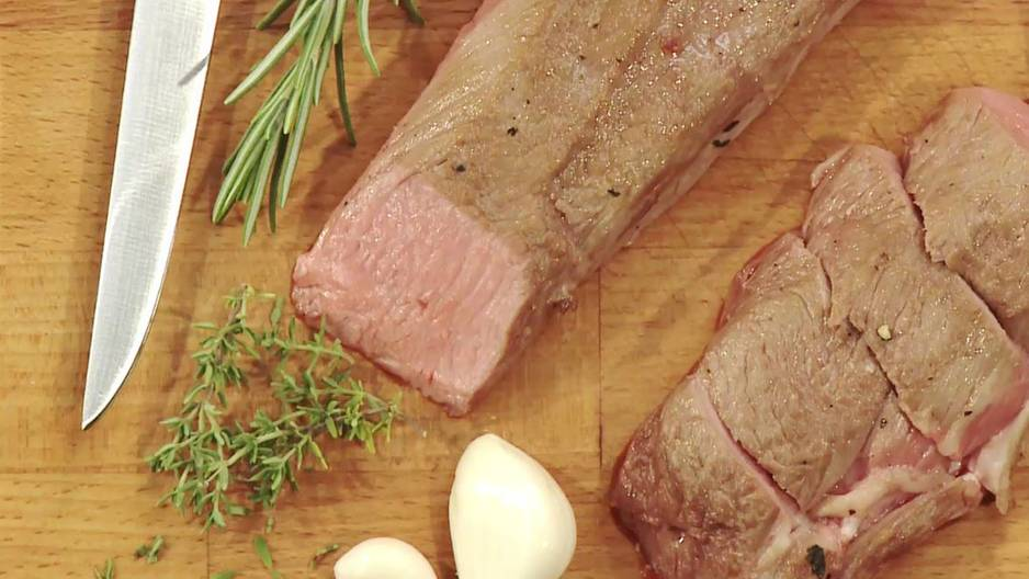 Lammrücken braten – Video-Kochschule
