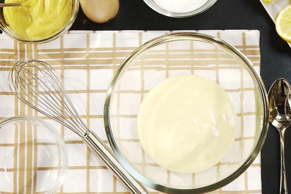 Mayonnaise selber machen - das beste Rezept