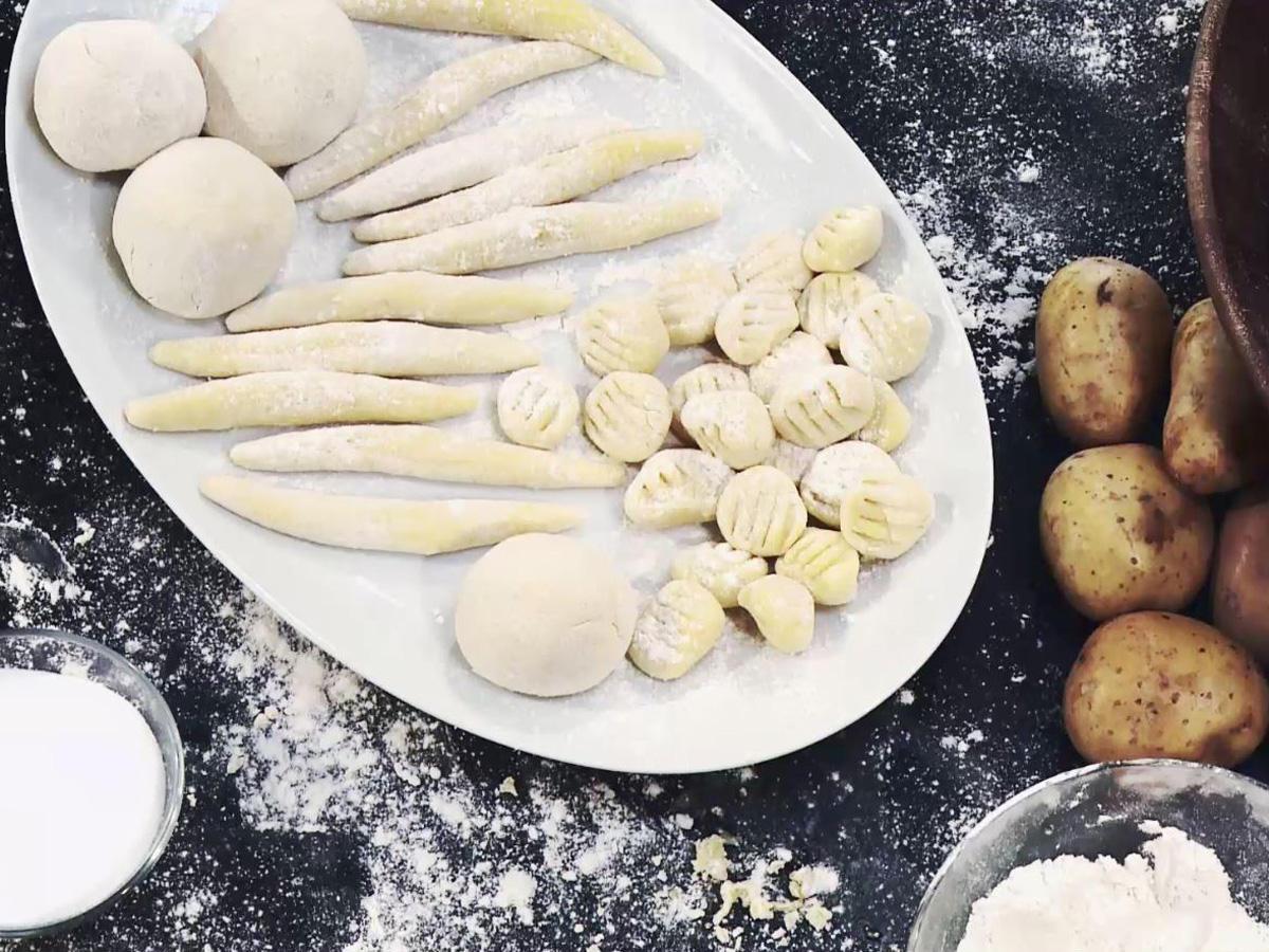 Kartoffeln: Kartoffelklöße, Gnocchi, Schupfnudeln - ein Rezept für ...