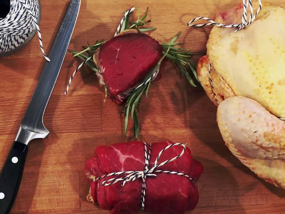 Video-Kochschule: Geflügel binden