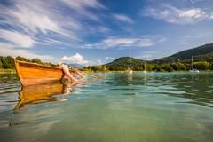 Entspannte Bootstour auf dem Wörthersee