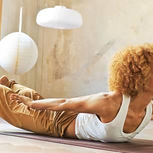 Neue BRIGITTE-DVD: Fünf Yoga-Workouts für eine tolle Figur