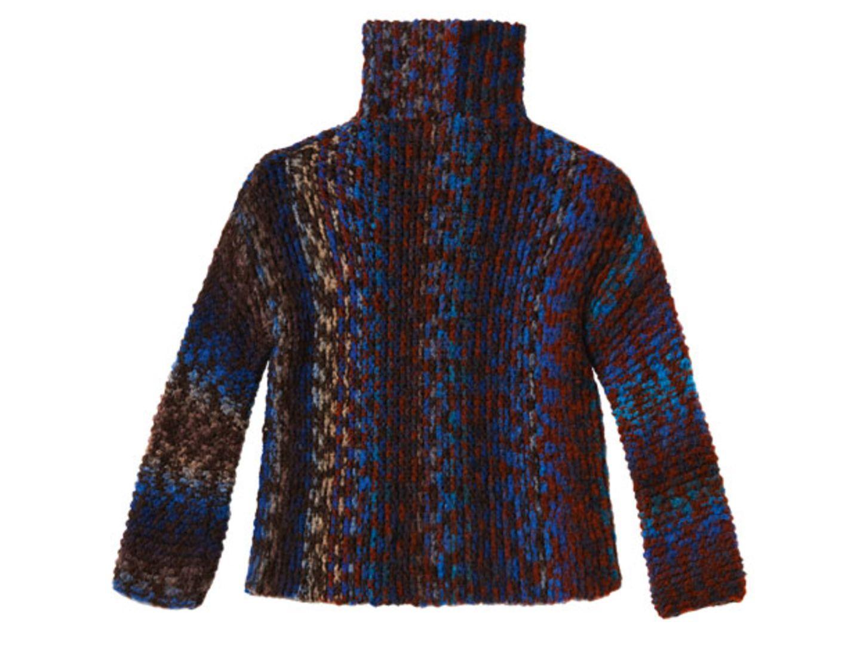 Kraus-rechts gestrickter Pullover - eine Anleitung