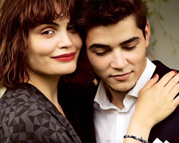Familiengespräche: Roni Zorina mit ihrem Bruder Ilja Zorin