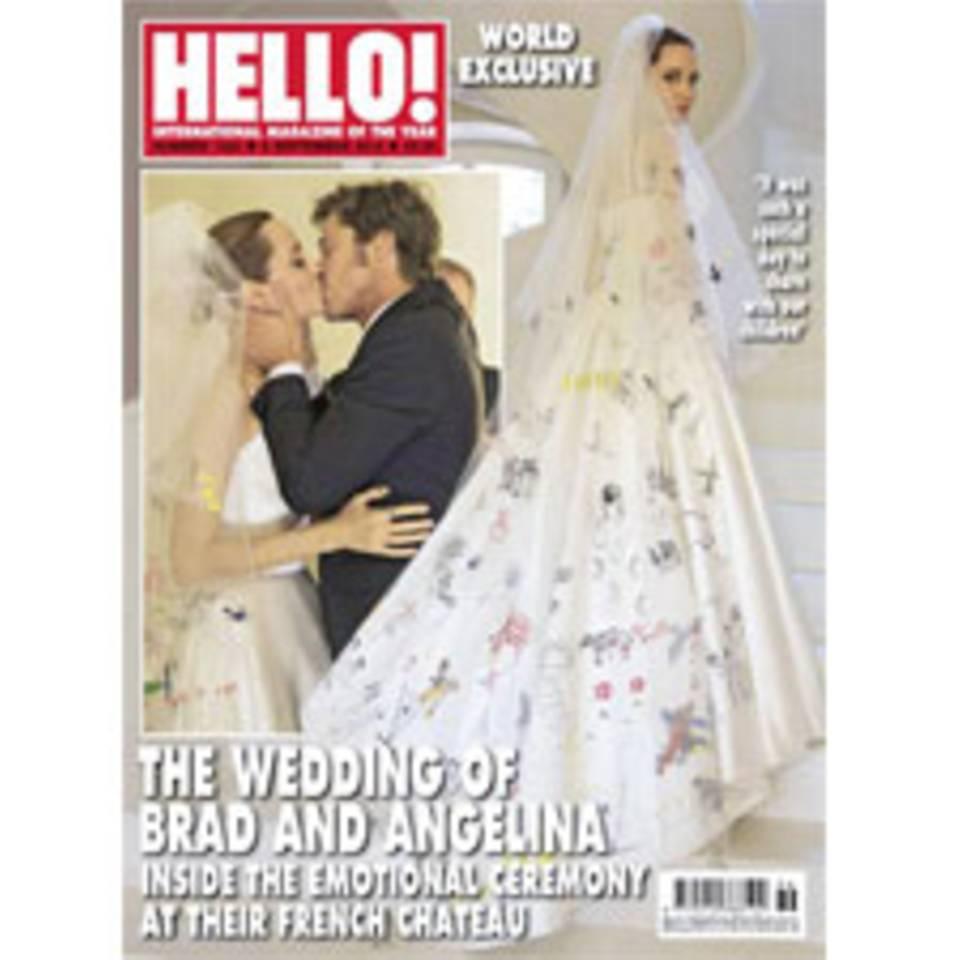 7 überraschende Fakten zur Brangelina-Hochzeit