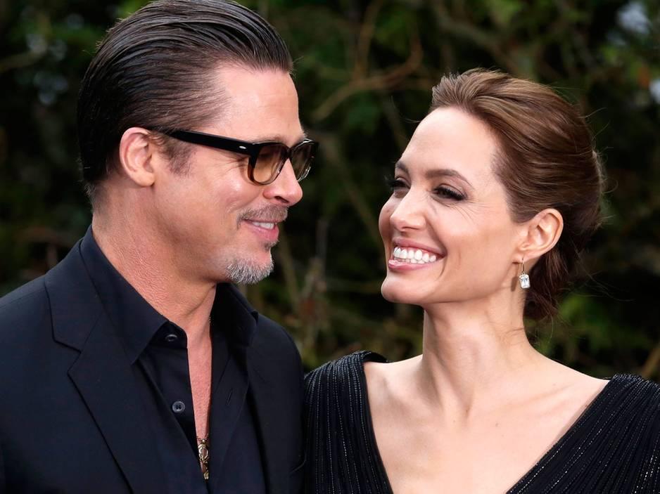Gesprächsthema des Tages: Hochzeit: Angelina Jolie und Brad Pitt haben geheiratet