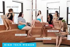 Für diese Unterwäsche modeln echte Frauen aus dem Tech-Business