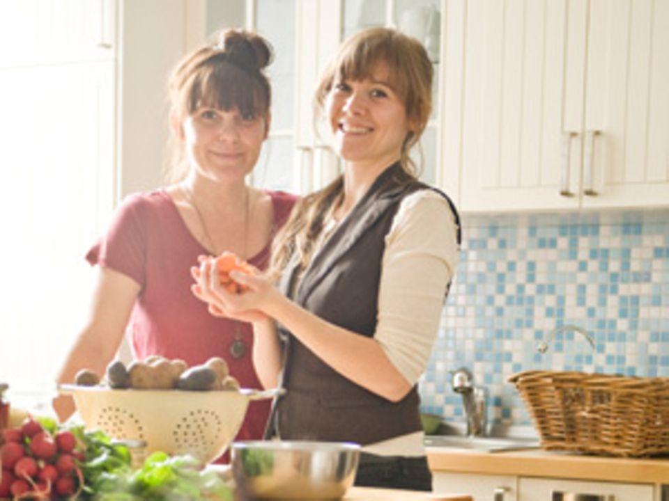 """Lea Brumsack und Tanja Krakowski von den """"Culinary Misfits"""""""