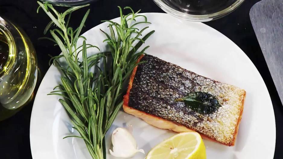 Video-Kochschule: Fisch braten