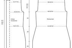 Strickmantel mit Kapuze: Anleitung zum Stricken