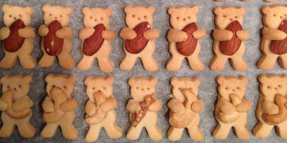 Bärenkekse - fast zu niedlich zum Essen