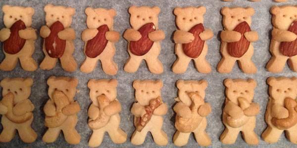 Sieht das lecker aus!: Bärenkekse - fast zu niedlich zum Essen