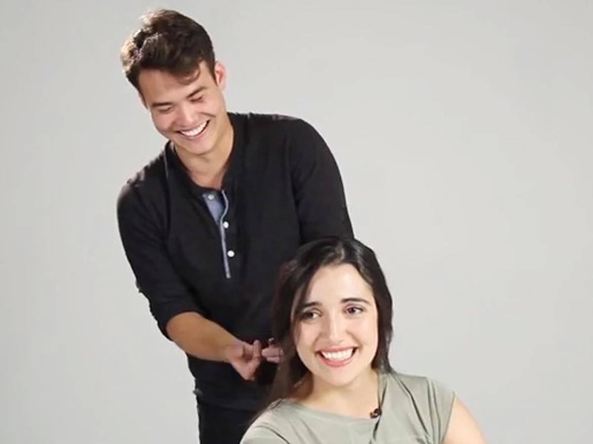 Wenn Männer die Frisuren ihrer Frauen machen ...