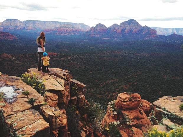 Wandern mit Baby: Morgan Brechler klettert mit ihrer Tochter durch die Berge Amerikas